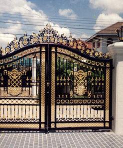 cổng sắt nghệ thuật 21