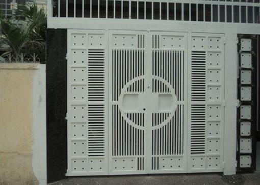 cổng sắt cnc đẹp 16