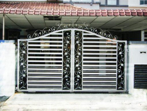 cổng sắt đẹp hiện đại 11