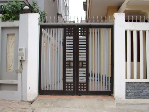 cổng sắt đẹp hiện đại 12