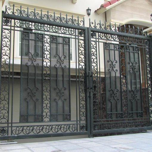 cổng sắt đẹp hiện đại 17
