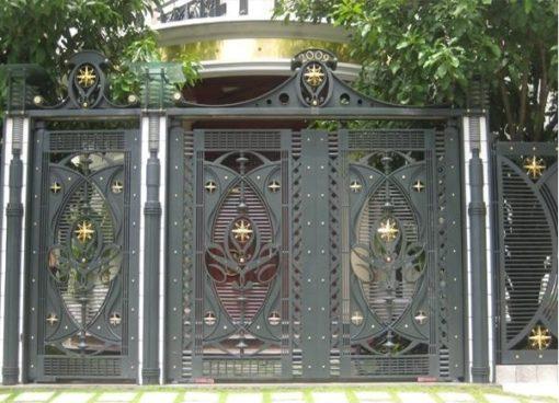 cổng sắt đẹp hiện đại 31
