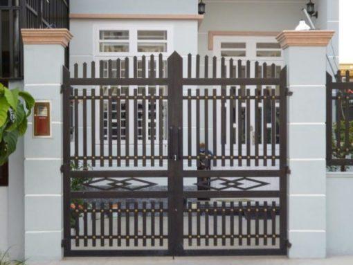 cổng sắt đẹp hiện đại 33
