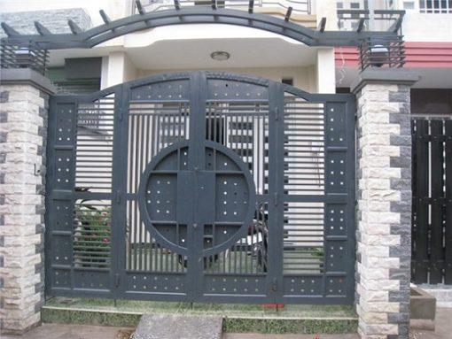 cổng sắt đẹp hiện đại 40