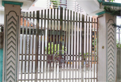 cổng sắt đẹp hiện đại 44
