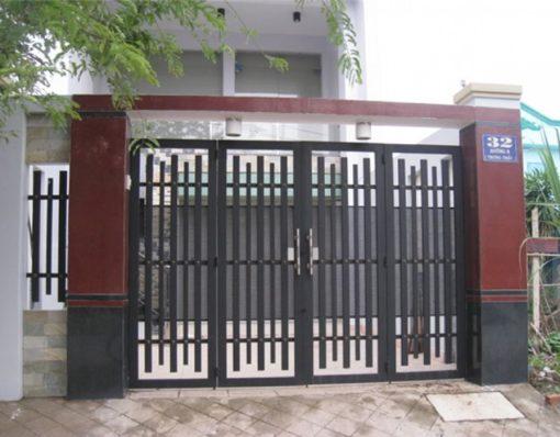 cổng sắt đẹp hiện đại 61