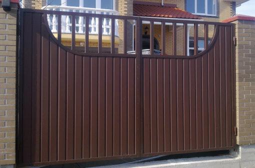 cổng sắt đẹp hiện đại 78