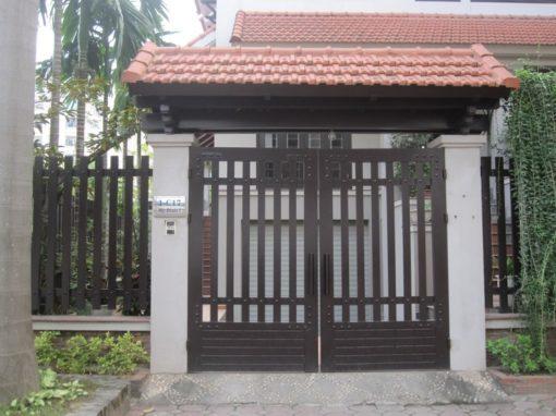 cổng sắt đẹp hiện đại 8