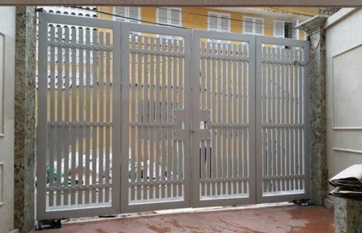 cổng sắt đẹp hiện đại 87