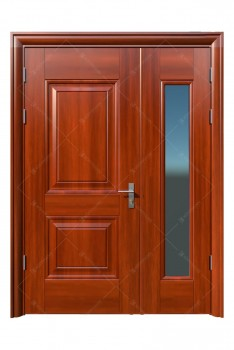 cửa sắt giả gỗ 12