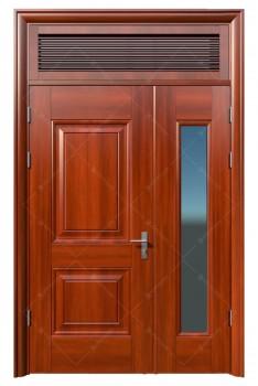 cửa sắt giả gỗ 13