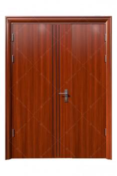 cửa sắt giả gỗ 14