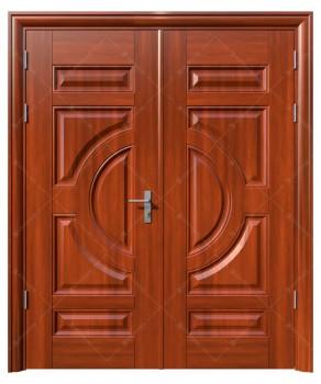 cửa sắt giả gỗ 16