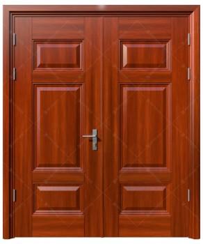 cửa sắt giả gỗ 19