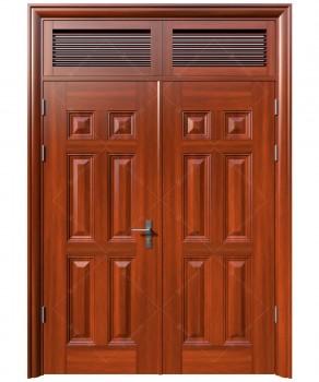 cửa sắt giả gỗ 22