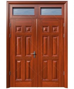 cửa sắt giả gỗ 23