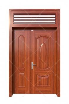 cửa sắt giả gỗ 27