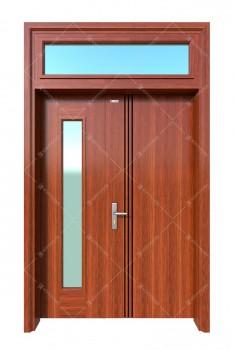 cửa sắt giả gỗ 28