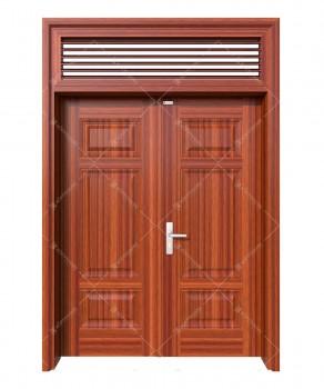cửa sắt giả gỗ 30