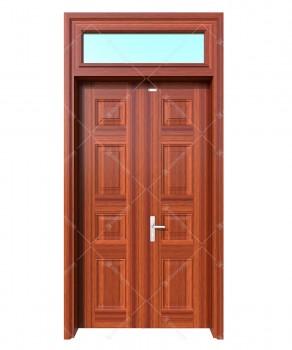 cửa sắt giả gỗ 32