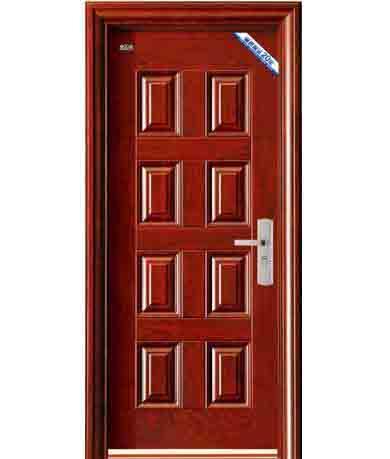 cửa sắt giả gỗ 34