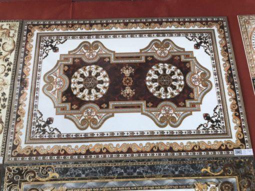 gạch thảm men sứ khắc kim 16