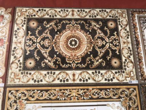 gạch thảm men sứ khắc kim 20
