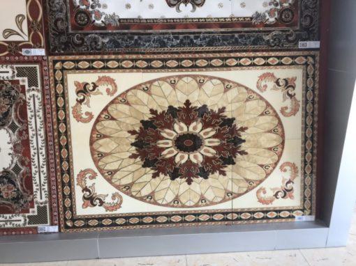 gạch thảm men sứ khắc kim 22