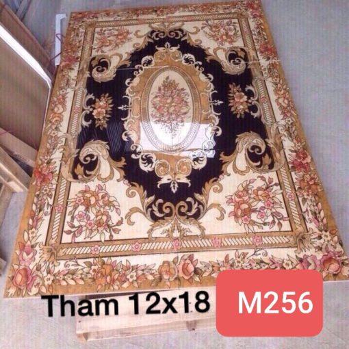 gạch thảm men sứ khắc kim 32