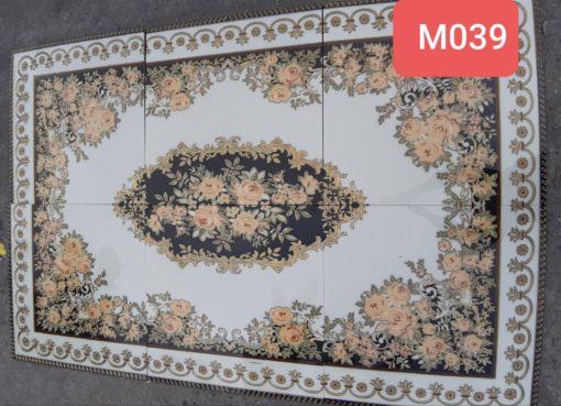 gạch thảm men sứ khắc kim 34