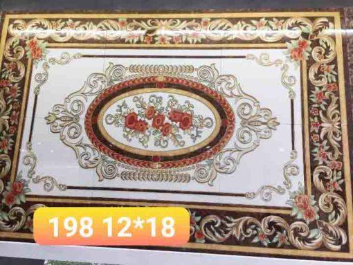 gạch thảm men sứ khắc kim 35