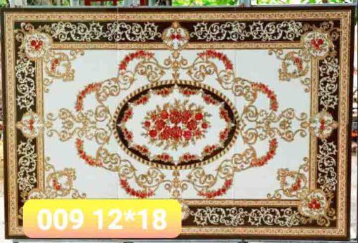 gạch thảm men sứ khắc kim 36