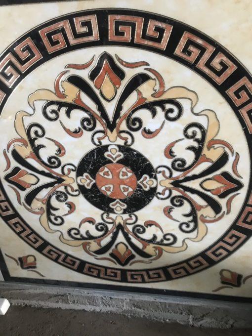 gạch thảm men sứ khắc kim 4