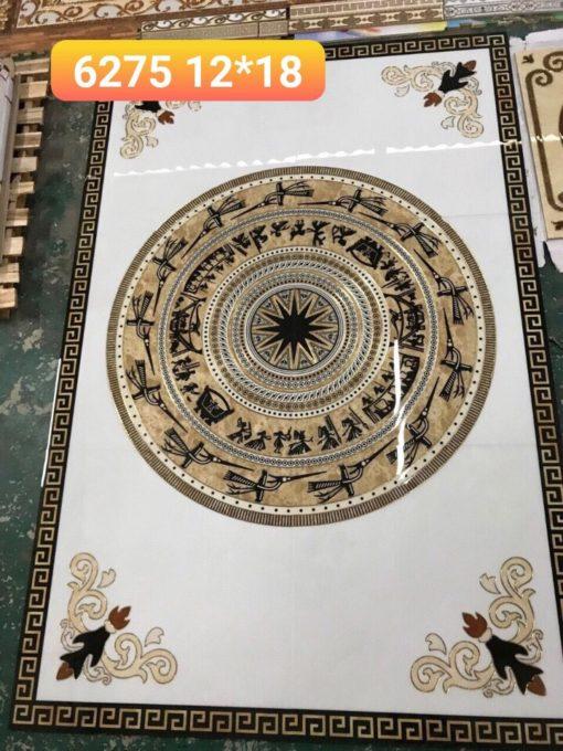 gạch thảm men sứ khắc kim 40