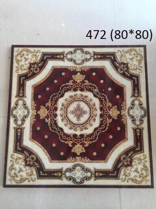 gạch thảm men sứ khắc kim 5