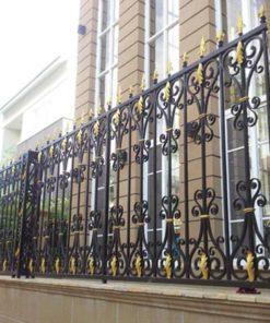 hàng rào sắt nghệ thuật 0