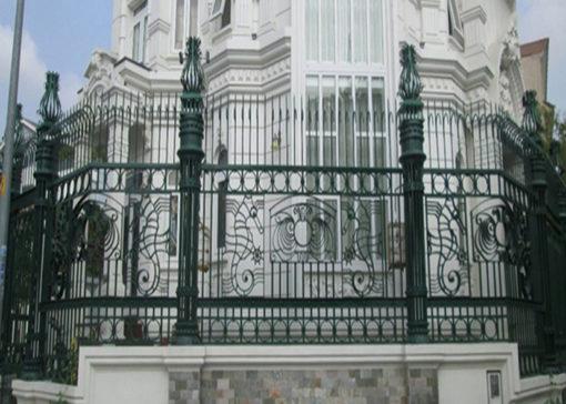 hàng rào sắt nghệ thuật 11