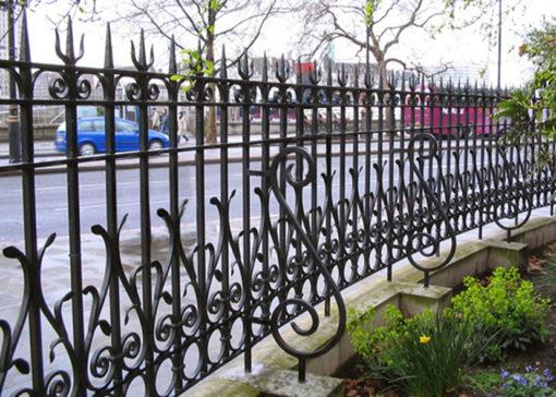 hàng rào sắt nghệ thuật 16