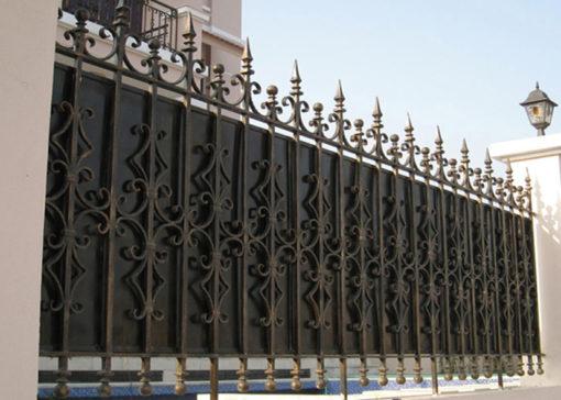 hàng rào sắt nghệ thuật 2