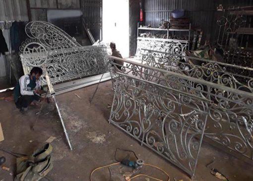 hàng rào sắt nghệ thuật 20