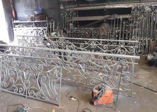 hàng rào sắt nghệ thuật 21