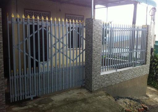 hàng rào sắt nghệ thuật 26