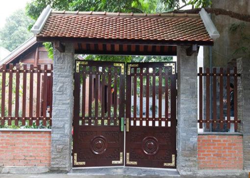 hàng rào sắt nghệ thuật 32