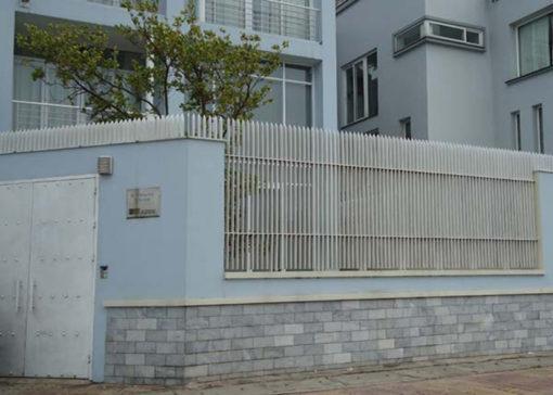 hàng rào sắt nghệ thuật 35