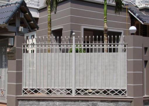 hàng rào sắt nghệ thuật 41