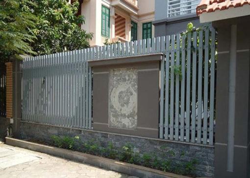 hàng rào sắt nghệ thuật 43