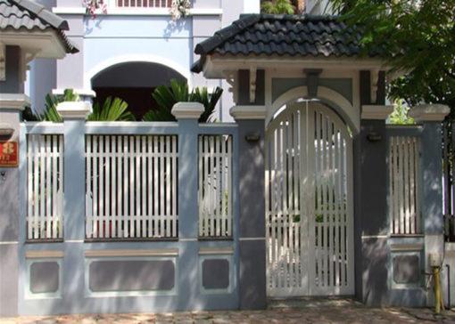 hàng rào sắt nghệ thuật 50