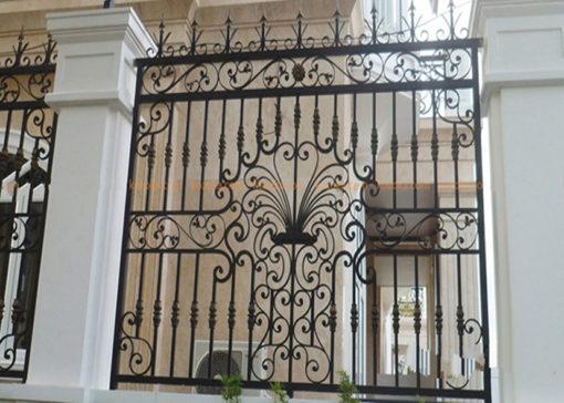 hàng rào sắt nghệ thuật 62