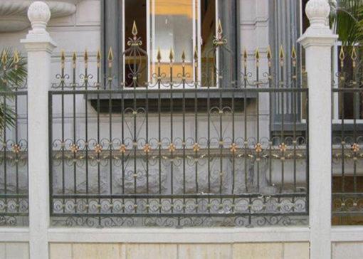 hàng rào sắt nghệ thuật 8
