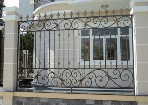 hàng rào sắt nghệ thuật 9